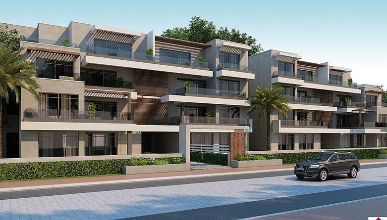 Capital Gardens Palm Hills Compound - Apartments For Sale - 8 GAtes Real Estate Egypt