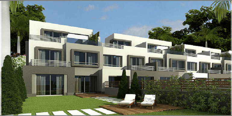 Town House For Sale - Golf Extention - Palm Hills October - Resale Units - Compound in 6th Of October