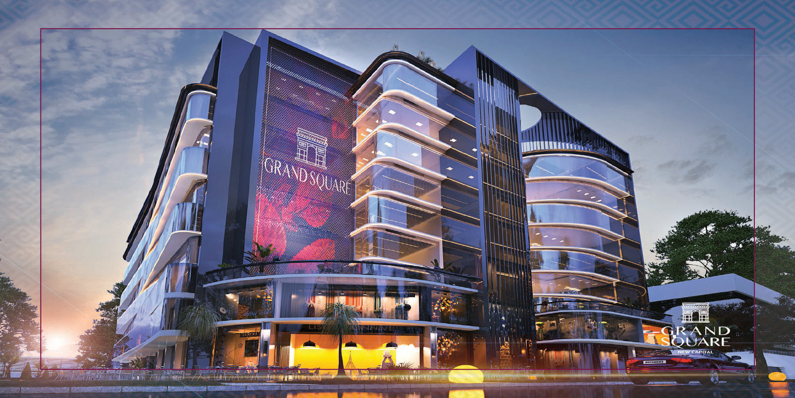 Grand Square Mall In New Capital by Pyramids Development