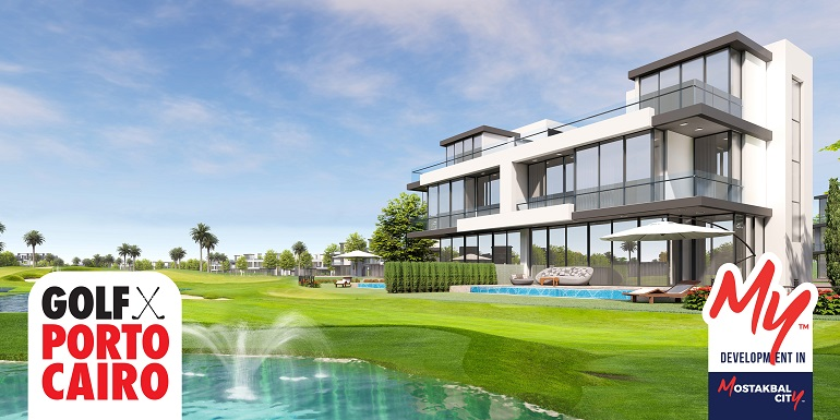 Golf Porto Cairo Mostakbal City by Amer Group -Golf Porto Cairo Future City- GolfPorto Cairo Villa - Golf PortoCairo Apartments- 8 Gates Real Estate Egypt