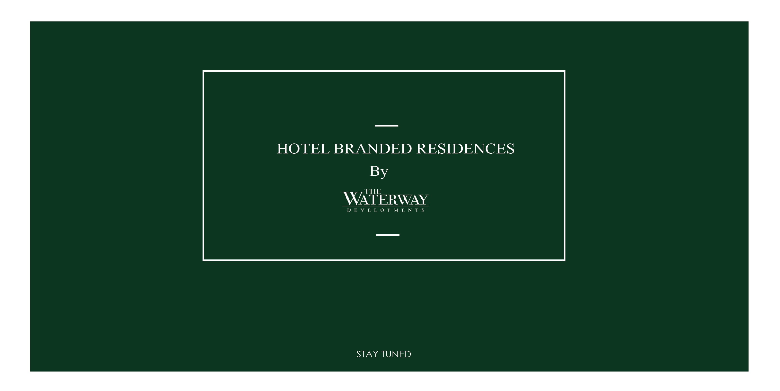 The Waterway Serviced Apartments New Cairo