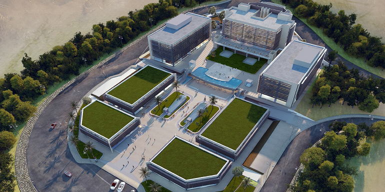 Ivory Business Park by Ivory investment - Office For Sale Commercial property - Office Building Space For Sale in Amazing Place Sodic West - 8 Gates Real Estate Egypt