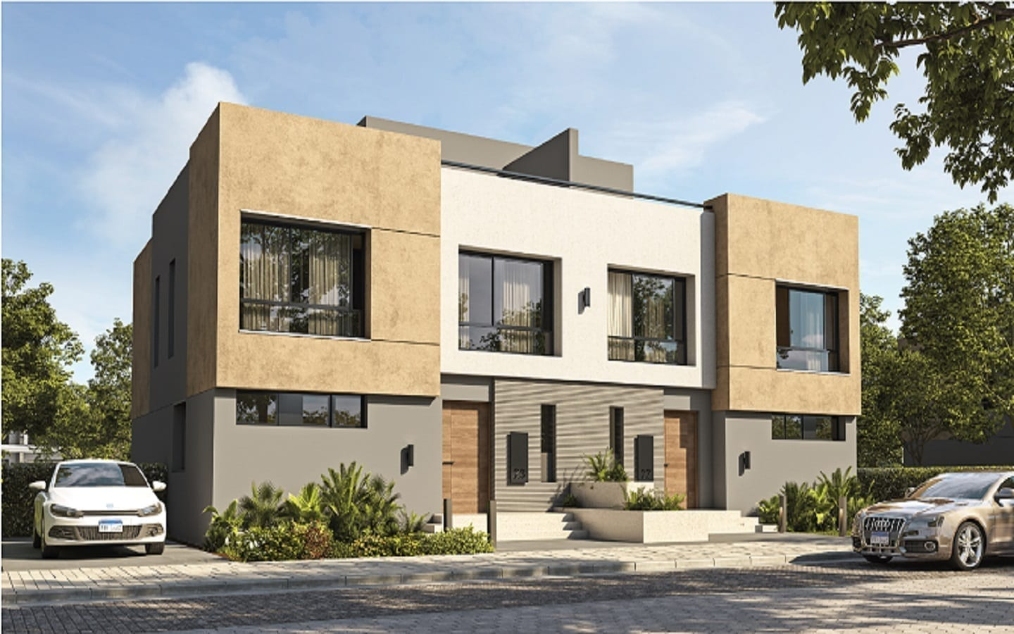 Swan lake Residences New Cairo Selina Genertaion Text Villas For Sale Compound Swan Lake Residences New Cairo - Master Plan and Prices - 8 Gates Real Estate Egypt (1)