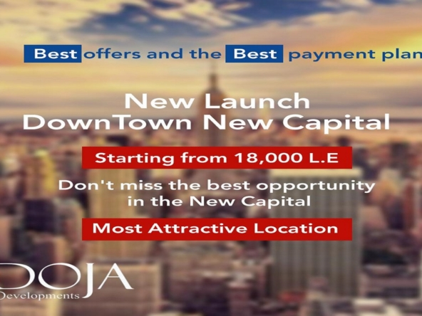 Doja Developments , Doja Downtown New Capital, Commercial Office For Sale and Shop and Clincs in New Capital City - 8 Gates Real Estate Egypt (2)