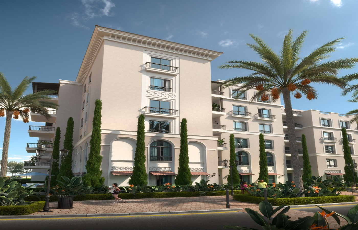 Village West Sheikh Zayed Compounds Dorra Developments - Fully Finished Apartments - 8 Gates Real Estate Egypt