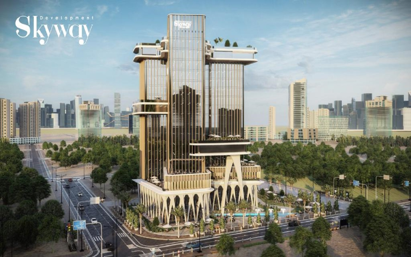 Bayadega-Tower Skyway-Downtown New Capital Get Now A Special Offer - 8 Gates Real Estate Egypt