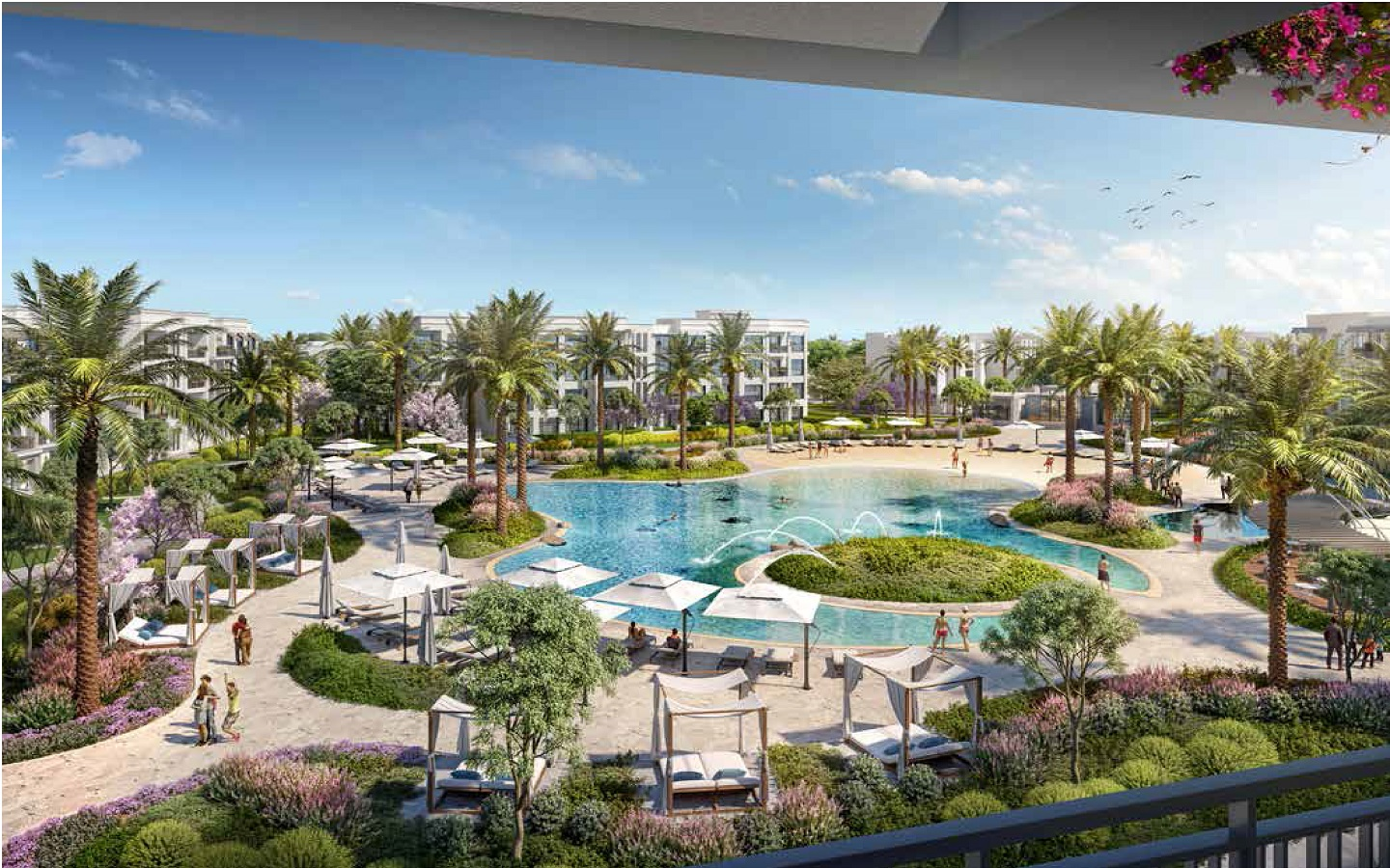 Belle Vie Emaar New Zayed 6 October - Emaar Misr Compound Apartments for sale townhouse and villa - Location & Prices 8 Gates Real Estate Egypt